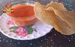 Köy usulü diş tarhanası çorbası